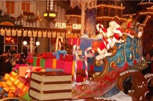 viaje a eurodisney navidad: