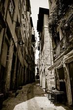 Foto de calles de Oporto, Portugal