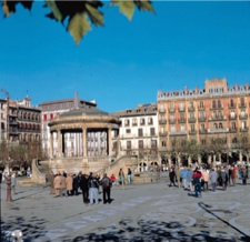 Foto de la Plaza del Castillo en Pamplona