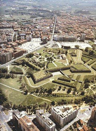 Vista aerea de Pamplona