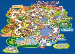 Port Aventura Tarragona, precios, hoteles, mapas y como llegar