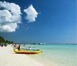 Foto la Playa Boca Chica