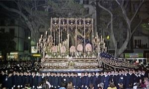 Foto de procesion en Málaga