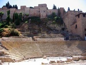 Foto del Teatro Romano de Malaga